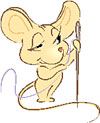 Mouse with needle
