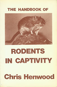 Handbook of Rodents in Captivity cover