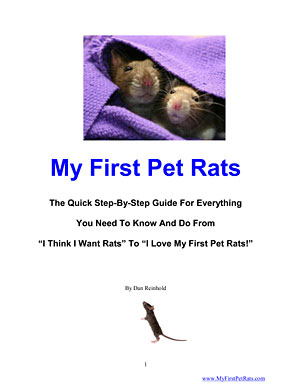 My First Pet Rats cover