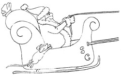 Mouse on sled