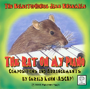 The Rat On My Piano CD cover