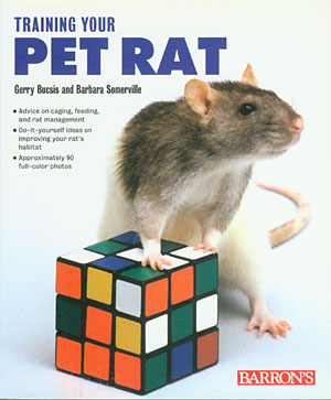 Training Your Pet Rat cover
