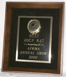 Best AOCP In Show Rat